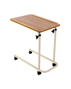 Overbed Table with Castors - Fixed Version