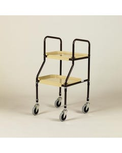 Days Adjustable Height Plastic Shelf Trolley