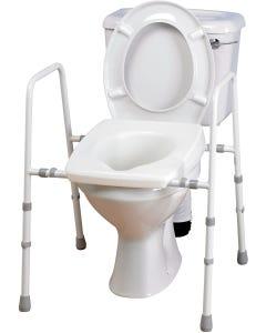 Homecraft Width Adjustable Stirling Toilet Frame