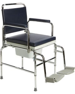 """Homecraft Adjustable Height Static Commode 18"""" Seat Width"""