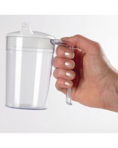 Homecraft Clear Polycarb Mug