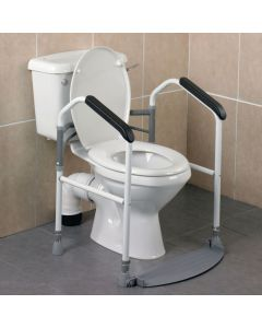 Buckingham Foldaway Toilet Surround