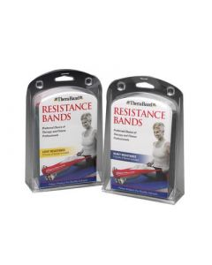 TheraBand Exercise Sets Light Yellow, Red & Green 1.5m