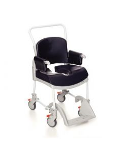 Etac Clean Comfort Wheeled Shower Commode Chair