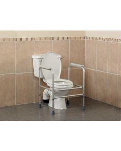 Homecraft Adjustable Aluminium Toilet Surround