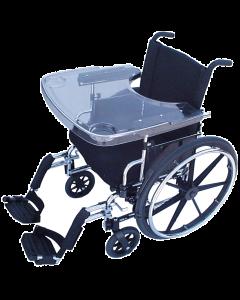 Transparent Wheelchair Tray