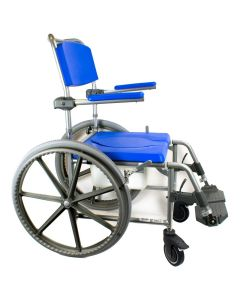Self Propelled Wheeled Shower Commode Chair