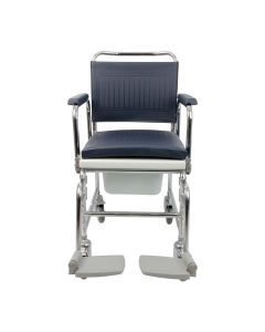 Homecraft Adjustable Height Mobile Commode - Front
