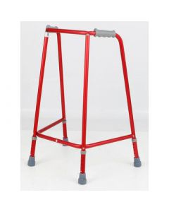 Days Red Walking Frames - Adjustable Height Narrow, Medium