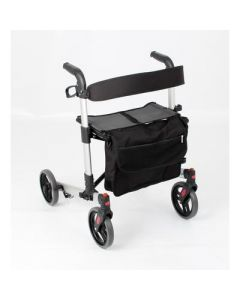 Days Quick Fold Lightweight Rollator Silver