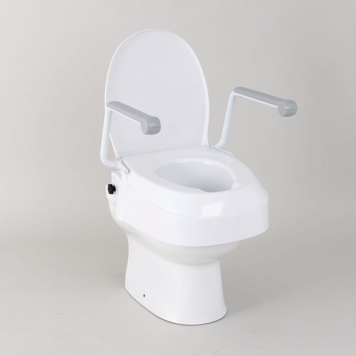 Homecraft Raised Toilet Seat With Arms Performance Health 174