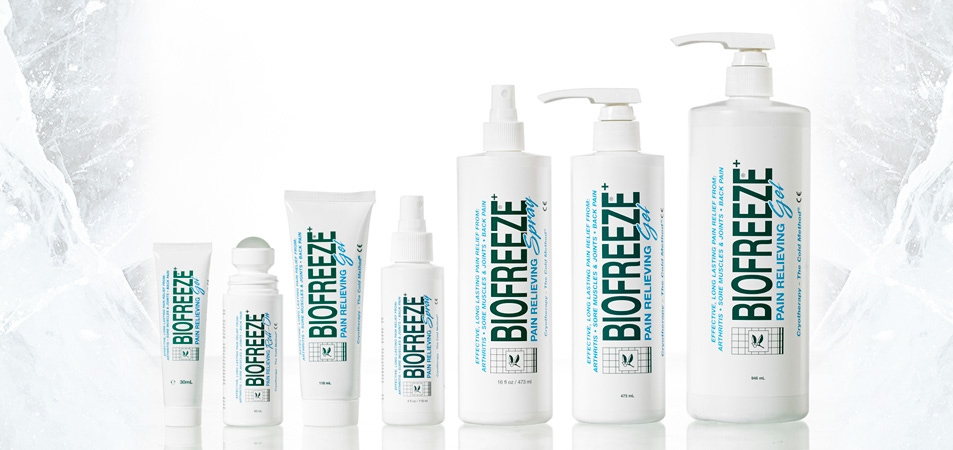 Biofreeze in the press