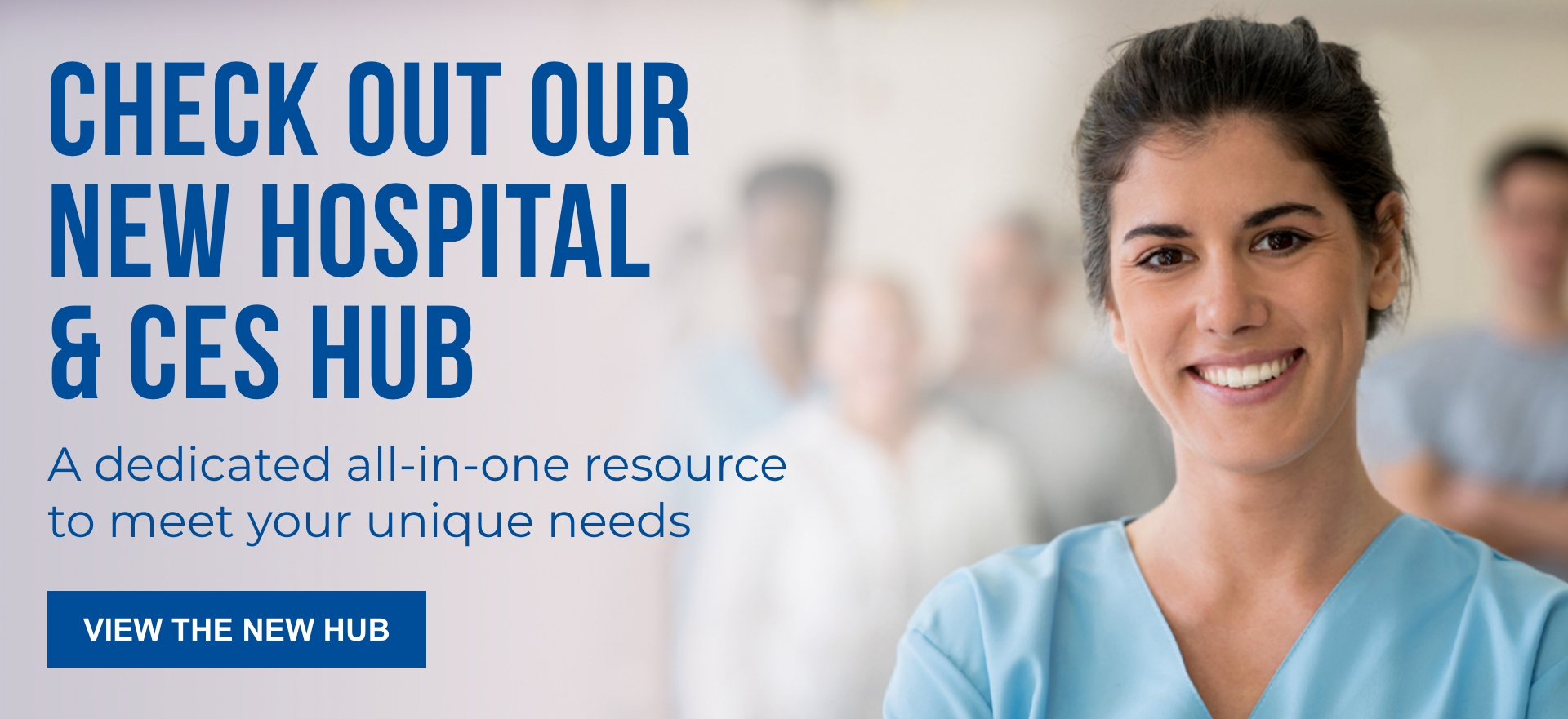 CES and Hospital Hub Banner